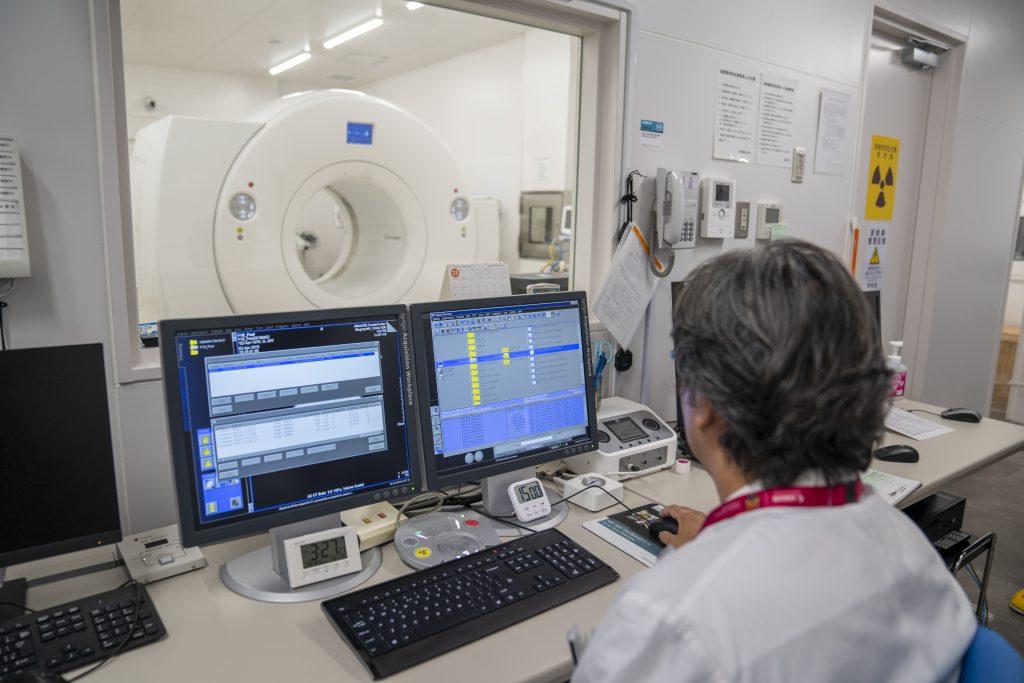 写真:放射線科診療部の様子2