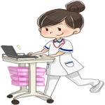 イラスト:看護師の仕事のイメージ